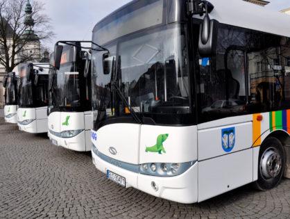 Prezentacja nowych autobusów MZK